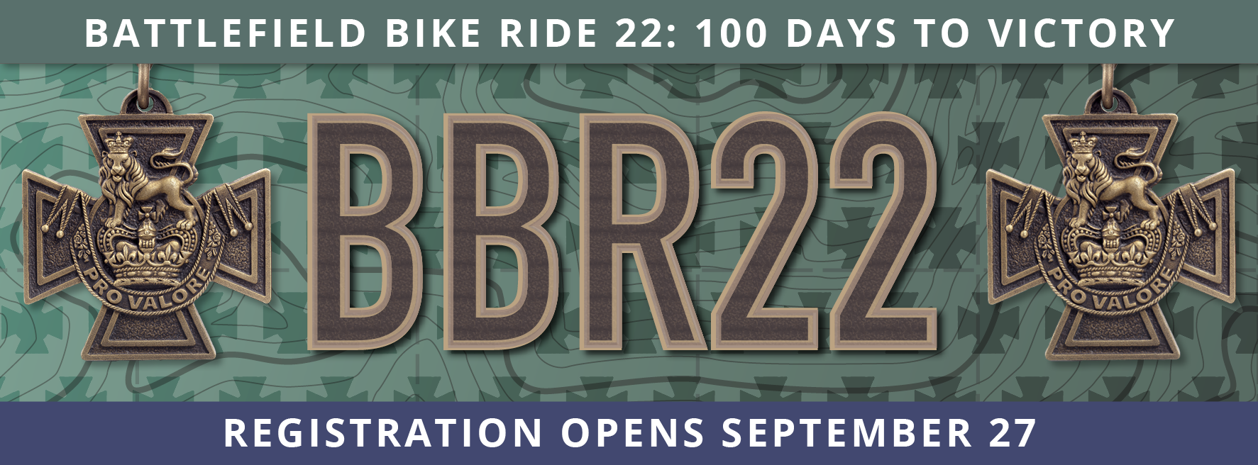 Battlefield Bike Ride 22: 100 Days to Victory
